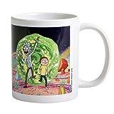Pyramid International Rick & Morty Portal Mug Rick & Morty, Tazza di Ceramica, Colorata, Multicolore, Unica