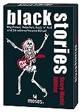 moses. Black Stories Scary Music Edition | 50rabenschwarze Mystère | Le krimi Jeu de Cartes