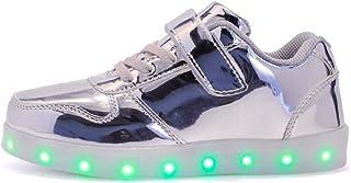 Bambini LED Lampeggiante Scarpe con Telecomando Scarpe LED 7 Colore USB Carica LED Lampeggiante Luminosi Sneaker Scarpe Sp...