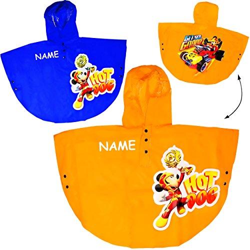 alles-meine.de GmbH - Trinkbecher - Disney - Mic.. alles-meine.de GmbH Regencape / Regenponcho - Disney - Mickey Mouse - incl. Name - Gr. 98 - 104 - Circa 3 bis 4 Jahre - für Kinder - Mädchen & Jungen / Regenjacke / Regenmant..