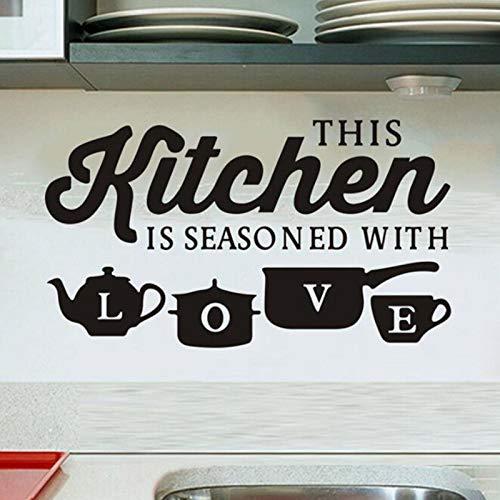 Trollen muurstickers voor slaapkamers Basketbalcreatieve keuken muursticker Vinyl verwijderbare sticker Art muurschildering keuken Decor citaat Wall78x45cm
