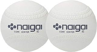 内外ゴム(NAIGAI) ソフトボール3号 公認球 2球セット