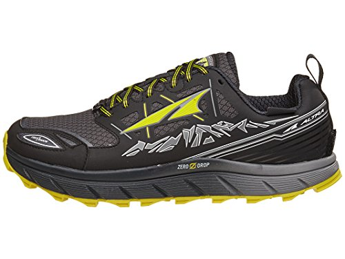 ALTRA Men's Footwear Lone Peak 3.0 Neoshell Trail Running Shoe,Black/Yellow,US 9
