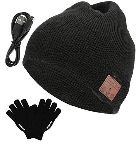 Anpress senza fili Bluetooth Beanie Cappello +...