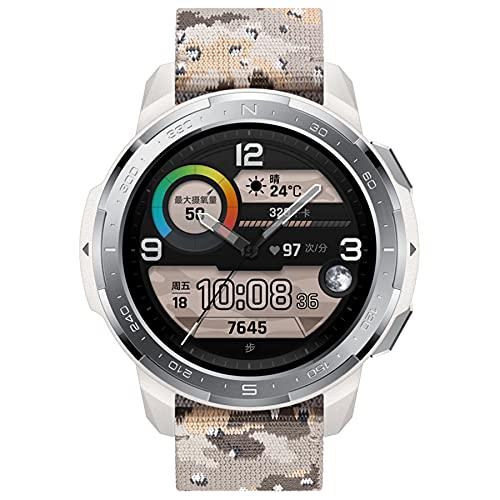 """HONOR Watch GS PRO, Smart Watch 48 mm 1,39""""Amoled, chiamate Bluetooth, Monitor SpO2, tracciamento della frequenza cardiaca, GPS 5atm Impermeabile, Grigio"""