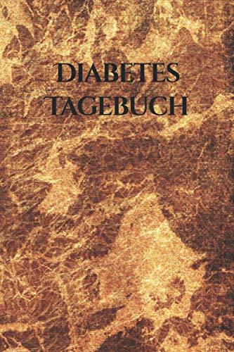 Diabetes Tagebuch für Diabetes Typ 1 und Diabetes Typ 2 mit Gold Cover: DIN A5 Diabetes Tagebuch für 368 Tage mit großzügiger Einteilung im ... Plan und Seiten für behandelnde Ärzte.