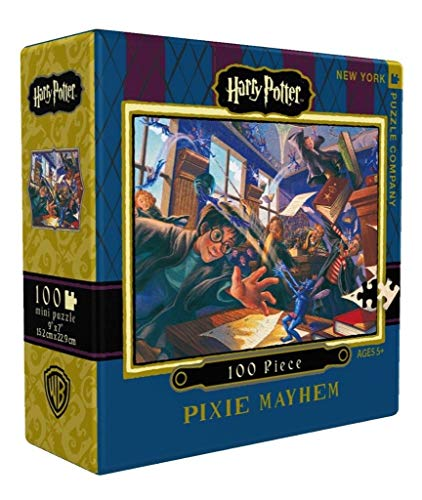 Harry Potter Pixie Mayhem 100Pc Jigsaw Puzzle