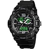 Men's Digital Sports Watch LED Screen Large...