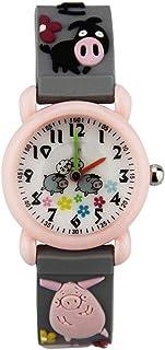 Orologio Bambino ZWRY Orologio per bambini del fumetto orologio al quarzo carino impermeabile orologio al quarzo impermeab...