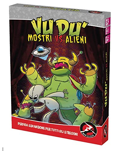 Red Glove Mostri vs Alieni, Espansione per Vudù, Colore, 20324