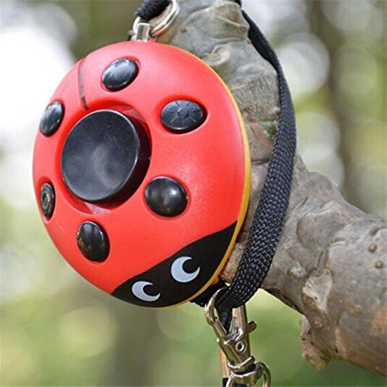 Bazaar Beatles Portable Mini Speaker Defense Personal Alarm Key Chain With LED Flashlight For Women