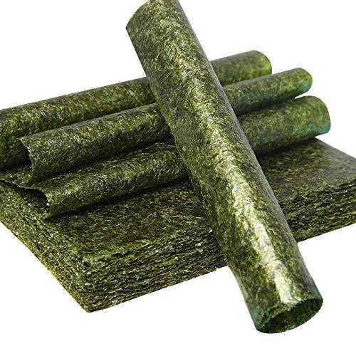 Foglio Di Alghe, Alghe Secche, Sushi Nori, Lavor,Seaweed Sheet (50 Fogli) (6 bag 300 sheets)