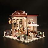 Fiaoen Puppenhaus Miniatur Mit Möbeln, 3D DIY Puppenstuben-Kit Innovatives Geschenk Für Kinder...