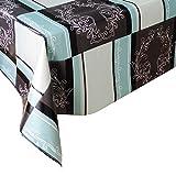 Mantel Hule Classic Corona · Mantel Antimanchas Resistente y Lavable · Mantel Mesa Rectangular en PVC · Hules para Mesas · Múltiples Diseños y Económicos · Medidas ( 300 cm x 140 cm )