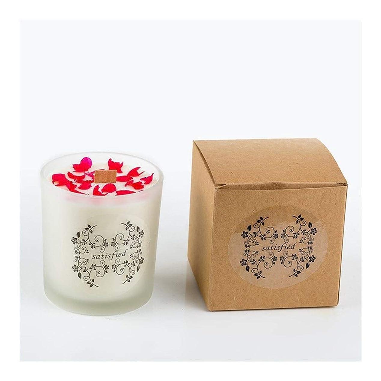 囲まれた応答ラジウムZtian ロマンチックな香りのキャンドルエッセンシャルオイル大豆ワックスガラスアロマセラピーロマンチックな誕生日ギフトの提案無煙の香り (色 : Xiang Xuelan)