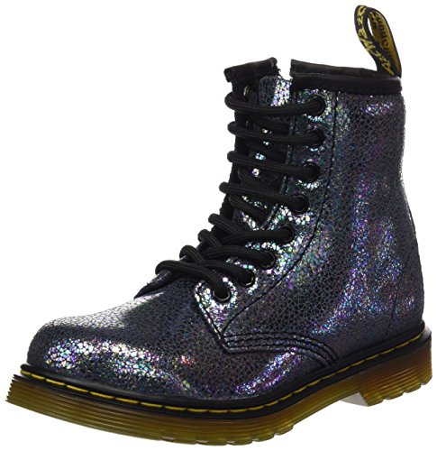 Dr. Martens Dr. Martens Unisex-Kinder Delaney Tp Split Brogue Boots, Grau (Grigio), 34 EU