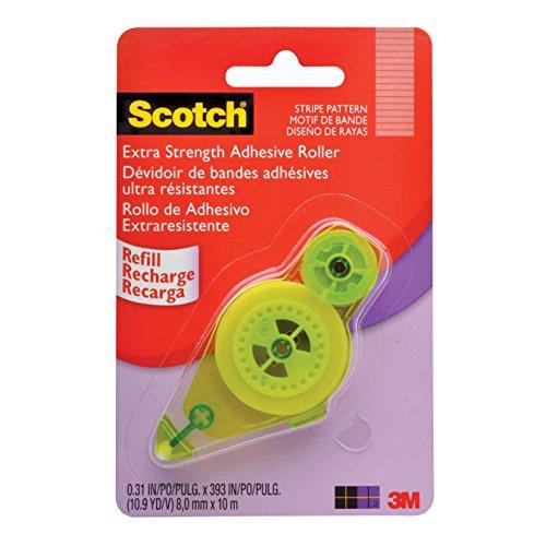 Scotch Tape Runner Refill Extra Strength.31 x 33 ft (055-R-ES-ESF)