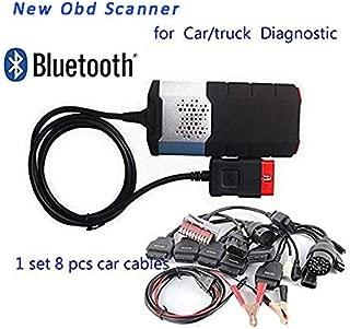 Morovan OBD Scanner for 201503 R3 Keygen Bluetooth Obd2 Diagnostic Scanner Tool +8 Pcs Car Cable
