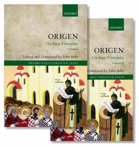 Origen: On First Principles (Oxford Early Christian Texts)
