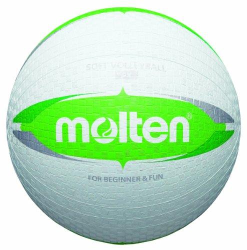 Molten S2V1550-WG Ballon pour Enfant pour Balle au Prisonnie