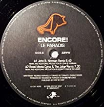 Le paradis (John B. Norman Remix, 4 versions, 1998) / Vinyl Maxi Single [Vinyl 12'']