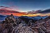 NA Puzzle Jigsaw Rompecabezas para Adultos USA Mountains Parks Rocky Mountain National Park Puzzle 1000 Piezas DIY para Regalo De Juguete Adulto para Niños