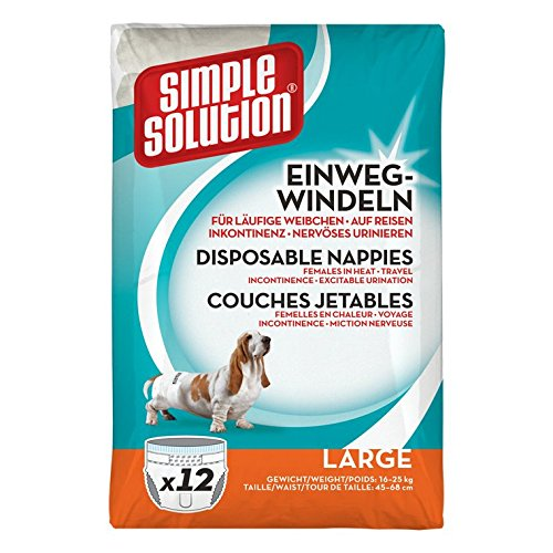 Simple Solution Capa desechable para Perro
