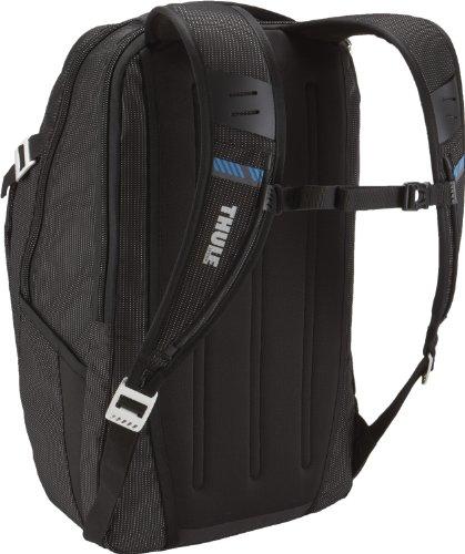 Thule TCBP217 - Mochila para Ordenador Ordenador portátil de 17' (Capacidad de 32 litros, Compartimento SafeZone), Negro