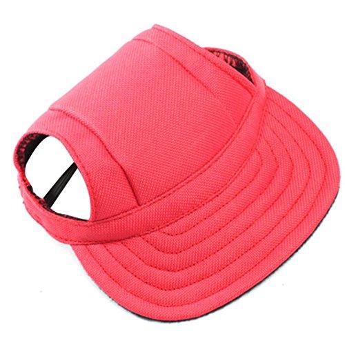 RETUROM Ropa para Mascotas, Verano Mascota Perro Lindo Gorra de béisbol Sombrero pequeño Perro al Aire Libre