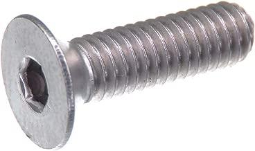 10 pezzi V2A ISK Viti a testa svasata con esagono incassato DIN 7991//ISO 10642 in acciaio inox A2