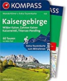 KOMPASS Wanderführer Kaisergebirge: Wanderführer mit Extra-Tourenkarte 1:35.000, 60 Touren, GPX-Daten zum Download