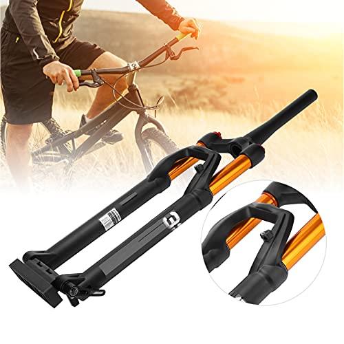 Luroze Horquilla Delantera para Bicicleta de montaña, Horquilla Delantera Ultraligera para Reparar Bicicletas de 27,5 Pulgadas