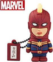 Llave USB 32 GB Captain Marvel - Memoria Flash Drive 2.0 Original Marvel Avengers, Tribe FD016707