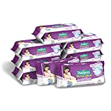 Pampers Sensitive Salviettine, Formula Delicata Senza Profumazione, Ripristina il Ph della Pelle, 9 Confezioni da 63 Pezzi, 567 Salviettine