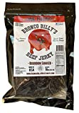 Bronco Billy's Beef Jerky Bourbon Soaked One Pound Resealable Bag