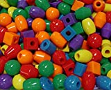 JOLLY STORE Crafts Jumbo Large Beads Made in USA
