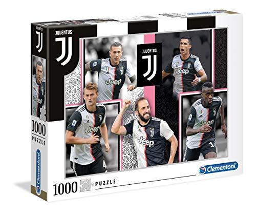Clementoni 39531 Juventus FC Puzzle, 1000 Teile, Mehrfarbig, pezzi