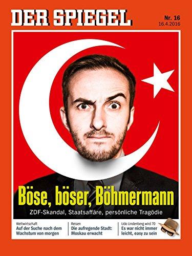 DER SPIEGEL 16/2016: Böse, böser, Böhmermann