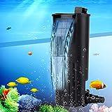 Pssopp - Filtro Interno per Acquario, a Basso Specchio, Filtro Interno per Pompa dell'acquario, Pompa dell'Aria, Filtro in Spugna per Pesce, Tartaruga e Serbatoio