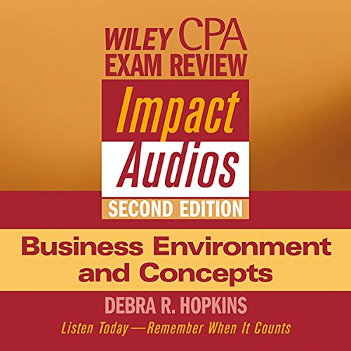 Wiley CPA Examination Review Impact Audios, Second Edition Titelbild
