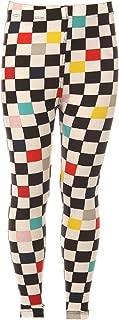 Kid's Full Length Buttery Soft Novelty Design Printed Leggings for Girls - Ages 4~8