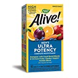 Nature's Way Alive! Once Daily Men's Multivitamin, Ultra Potency, Food-Based Blends (60 mg per...