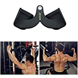 XingLi Forearm Wrist Trainer, Tricep Workout Machine Press Down Bar LAT Pull Down Bar Handle...