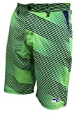 FOCO NFL Seattle Seahawks Diagonal Stripe Walking Shorts, Team Color, XX-Large/Size 40