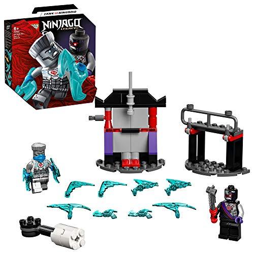 LEGO 71731 NINJAGO Set de Batalla Legendaria: Zane vs. Nindroide con Juguete de Batalla Giratorio