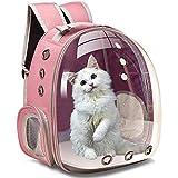 Henkelion Cat Carrier Dog Carrier Backpack, Pet Carrier Back Pack Front...
