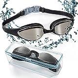 EveShine Schwimmbrille verspiegelte Taucherbrille mit kristallklarem Anti-Nebelglas, Taucherbrille...