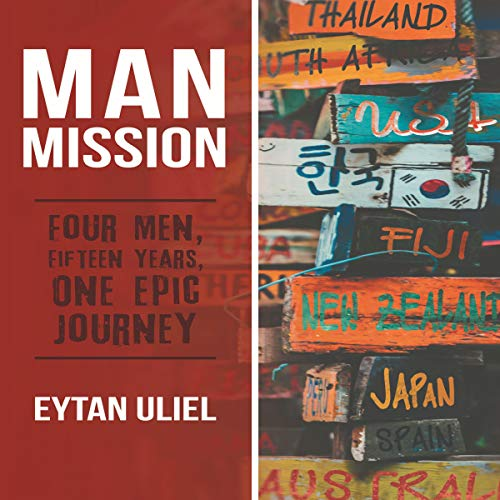 Man Mission audiobook cover art