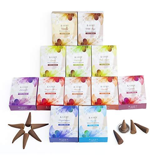 Eleet Assorted Natural Incense Cones