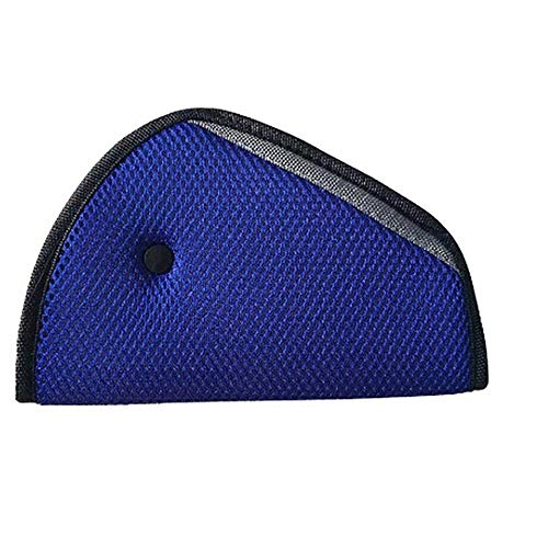 Dreieck Baby Kind Auto Safe Fit, Sicherheitsgurt Teller Gerät Schultergurt Gurt Abdeckung für Kind-Blau